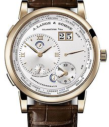 A. Lange & Sohne Lange 1 Time Zone Honey Gold 116.050