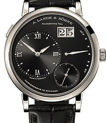 A. Lange & Sohne Lange Lange1 grand white gold with dial in black