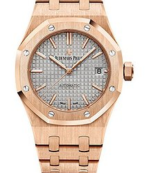 Audemars Piguet 15450OR.OO.1256OR.01 Royal Oak Selfwinding Pink Gold  Watch