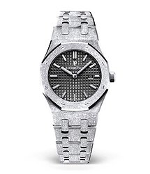 Audemars Piguet 67653BC.GG.1263BC.02 Royal Oak Lady Frosted White Gold  33mm