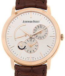 Audemars Piguet Jules Audemars 18kt Rose Gold Silver Automatic 26380OR.OO.D088CR.01
