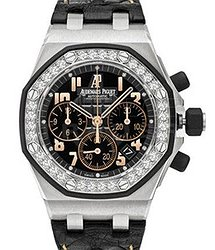 Audemars Piguet Ladies Royal Oak Offshore Chronograph 26282SK.ZZ.D101CR.01