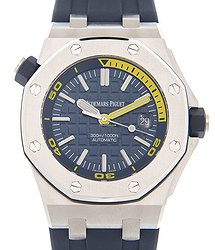 Audemars Piguet Royal Oak Offshore Stainless Steel Blue Automatic 15710ST.OO.A027CA.01