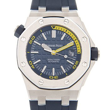 Купить часы Audemars Piguet Royal Oak Offshore Stainless Steel Blue Automatic 15710ST.OO.A027CA.01  в ломбарде швейцарских часов