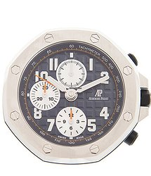 Audemars Piguet Stainless Steel Blue Ap Table CLOCK
