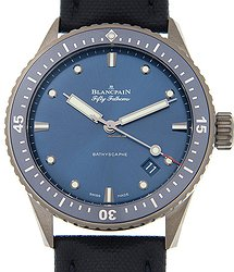 Blancpain Fifty Fathoms Ceramics Blue Automatic 5000-0240-O52A