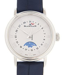 Blancpain Villeret Stainless Steel White Automatic 6106-1127-55A
