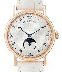 Breguet Classic 18kt Rose Gold Silver Automatic 9087BR/52/964
