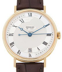Breguet Classic 18kt Yellow Gold Silver Automatic 5197BA/15/986