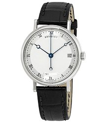 Breguet Classique Silver Dial 18K White Gold Automatic Ladies Watch 9067BB12976