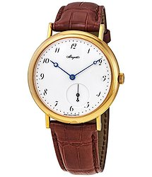 Breguet Classique White Dial 18kt Yellow Gold Men's Watch