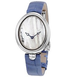 Breguet Reine de Naples Mother of Pearl Dial Automatic Ladies Watch 9807ST5W922