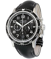 Breguet Transatlantique Type XXI Flyback Black Dial Automatic Men's Watch