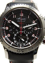 Breguet Type XXI Stainless Steel Black Automatic 3880ST/H2/3XV