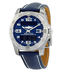 Breitling Aerospace EVO Blue Dial Quartz Men's Watch E7936310-C869BLLD