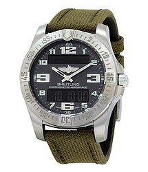 Breitling Aerospace EVO Grey Dial Quartz Men's Watch