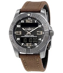 Breitling Aerospace Evo Night Mission Black Dial Titanium Men's Watch V7936310-BD60BRFD