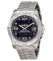 Breitling Aerospace Men's Analog-Digital Watch E7936210-B962TI