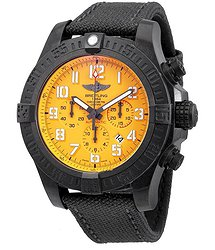 Breitling Avenger Hurricane Yellow Dial Automatic Men's Chronograph Watch