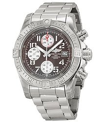 Breitling Avenger II Automatic Grey Dial Stainless Steel Men's Watch A1338111-F564SS