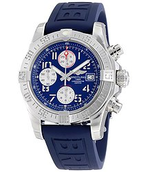 Breitling Avenger II Blue Dial Automatic Men's Chronograph Watch