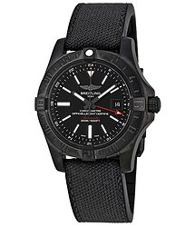 Breitling Avenger II GMT Automatic Black Dial Men's Watch