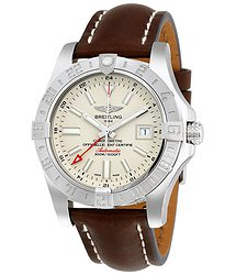 Breitling Avenger II GMT Automatic Silver Dial Men's Watch A3239011-G778BRLT