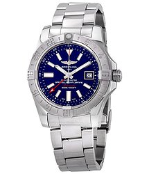 Breitling Avenger II GMT Mariner Blue Dial Automatic Men's Watch