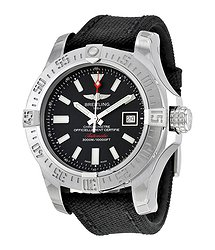 Breitling Avenger II Seawolf Automatic Black Dial Men's Watch