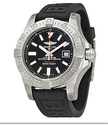 Breitling Avenger II Seawolf Black Dial Men's Watch