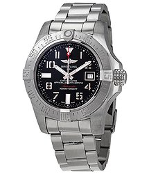 Breitling Avenger II Seawolf Chronograph Automatic Black Dial Men's Watch