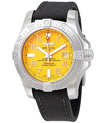 Breitling Avenger II Seawolf Cobra Yellow Dial Automatic Men's Watch