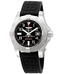 Breitling Avenger II Seawolf Quartz Black Dial Men's Watch