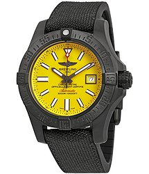 Breitling Avenger II Seawolf Yellow Dial Automatic Men's Watch