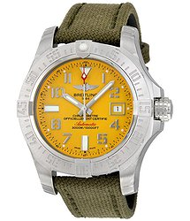 Breitling Avenger II Seawolf Yellow Dial Men's Watch A1733110-I519GCVT