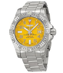 Breitling Avenger II Seawolf Yellow Dial Men's Watch A1733110-I519SS