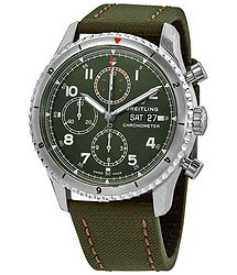 Breitling Aviator 8 Curtiss Warhawk Chronograph Automatic Green Dial Men's Watch