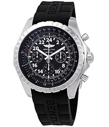 Breitling Bentley 24H Black Chronograph Dial Men's Limited Edition Hand Wound Watch