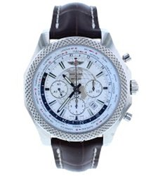 Breitling Bentley B05 Unitime World Time Chronograph Automatic Chronometer White Dial Men's Watch