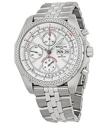 Breitling Bentley GT Racing White Dial Men's Watch SS