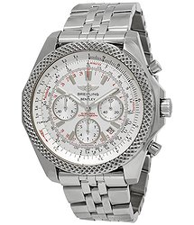 Breitling Bentley Motors Speed Chronograph Automatic Silver Dial Men's Watch