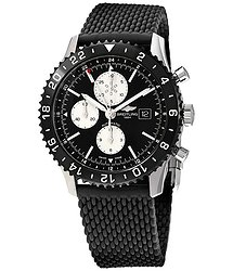 Breitling Chronoliner Automatic Black Dial Men's Watch