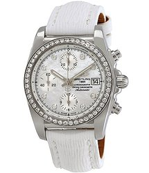 Breitling Chronomat 38 Chronograph Automatic Diamond Ladies Watch