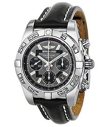 Breitling Chronomat 41 Automatic Chronograph Black Dial Men's Watch