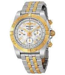 Breitling Chronomat 41 Mother of Pearl Dial Men's Watch