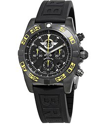Breitling Chronomat 44 Chronograph Automatic Black Dial Men's Watch