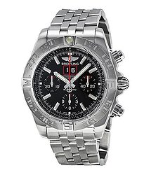 Breitling Chronomat BlackBird Automatic Chronograph Black Dial Men's Watch A4436010-BB71SS