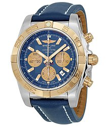 Breitling Chronomat Blue Dial Automatic Watch