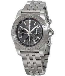 Breitling Chronomat Chronograph Automatic Blackeye Gray Dial Men's Watch