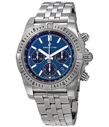 Breitling Chronomat Chronograph Automatic Blue Dial Men's Watch